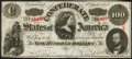 Confederate Notes:1863 Issues, T56 $100 1863 PF-3 Cr. 402 Extremely Fine-About Uncirculated.. ...
