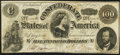 Confederate Notes:1862 Issues, T49 $100 1862 PF-2 Cr. 348 Very Fine.. ...