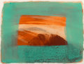Fine Art - Work on Paper:Print, Howard Hodgkin (1932-2017). After Degas, 1990. Intaglio with carborundum in colors on Larroque et Pombie wove paper. 10 ...