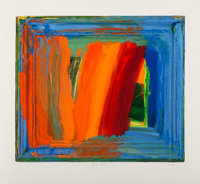 Howard Hodgkin (1932-2017) Bamboo, 2000 Screenprint in colors on Somerset Texture paper 26-1/4 x