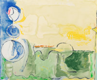 Helen Frankenthaler (1928-2011) Flotilla, 2006 Screenprint in colors on Rives BFK paper 31 x 36-7/8 inches (78.7 x 93