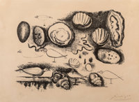Pablo Picasso (1881-1973) Coquillages et oiseaux, 1946 Lithograph on wove paper, second state of 2