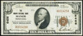 National Bank Notes:Pennsylvania, Manor, PA - $10 1929 Ty. 1 The Manor National Bank Ch. # 6456 Very Fine-Extremely Fine.. ...