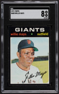 Baseball Cards:Singles (1970-Now), 1971 Topps Willie Mays #600 SGC NM/MT 8....