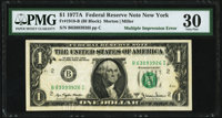 Fr. 1910-B $1 1977A Federal Reserve Note. PMG Very Fine 30