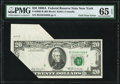 Fr. 2068-B $20 1969A Federal Reserve Note. PMG Gem Uncirculated 65 EPQ