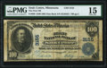 Sauk Centre, MN - $100 1902 Date Back Fr. 689 The First National Bank Ch. # 3155 PMG Choice Fine 15