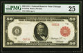 Large Size:Federal Reserve Notes, Fr. 1018a $50 1914 Red Seal Federal Reserve Note PMG Very Fine 25.. ...