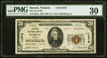 Bassett, VA - $20 1929 Ty. 2 The First National Bank Ch. # 11976 PMG Very Fine 30
