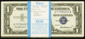 Fr. 1619 $1 1957 Silver Certificates. Original Pack of 100. ... (Total: 100 notes)