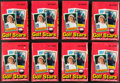 "Golf Cards:General, 1981 Donruss ""Golf Stars"" Wax Box Lot of 8. ... (Total: 8 items)"