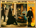 "Movie Posters:Horror, Dr. Jekyll and Mr. Hyde (Paramount, 1931). Very Fine-. Lobby Card (11"" X 14"").. ..."