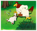 """Animation Art:Limited Edition Cel, Foghorn Leghorn """"Let's Play Croquet"""" Limited Edition Cel, SP 7/8 (Warner Brothers, 1991). ..."""