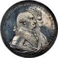 "Mexico: Charles IV silver ""Mexico City University"" Medal 1790 MS64 NGC"