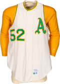 Baseball Collectibles:Uniforms, 1967 Game Worn Kansas City A's Jersey, Pants, Stirrup Socks & Undershirts Lot of 5 from Luke Appling's Estate....