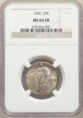 Standing Liberty Quarters: , 1930 25C MS64 Full Head NGC. NGC Census: (833/662). PCGS Population: (1082/1229). MS64. Mintage 5,632,000. ...