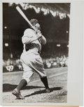 Baseball Collectibles:Photos, 1933 Babe Ruth Original News Photograph, PSA/DNA Type 2....