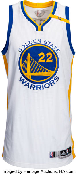 the best attitude 80447 137c6 2017 Matt Barnes Game Worn Golden State Warriors NBA Finals Jersey - Used  6/1 Game 1 vs. Cavaliers....