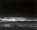 Photographs:20th Century, Ansel Adams (American, 1902-1984). Moonrise, Hernandez, New Mexico, 1941. Gelatin sliver, printed between 1963-1970. 15-...