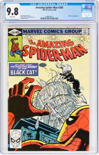 The Amazing Spider-Man #205 (Marvel, 1980) CGC NM/MT 9.8 White pages