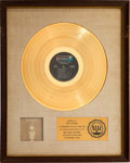Music Memorabilia:Awards, Steppenwolf Gold: Their Great Hits White Matte RIAA Gold Sales Award (Dunhill, 1971). ...