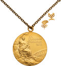 Basketball Collectibles:Others, 1972 Munich Olympics USSR Men's Basketball Gold Medal Presented to Player Sergei Kovalenko. ...