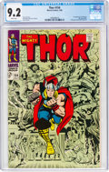 Silver Age (1956-1969):Superhero, Thor #154 (Marvel, 1968) CGC NM- 9.2 White pages....