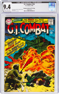 G.I. Combat #128 Murphy Anderson File Copy (DC, 1968) CGC NM 9.4 Off-white to white pages