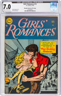 Golden Age (1938-1955):Romance, Girls' Romances #13 Murphy Anderson File Copy (DC, 1952) CGC FN/VF 7.0 Cream to off-white pages....