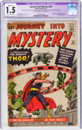 Silver Age (1956-1969):Superhero, Journey Into Mystery #83 (Marvel, 1962) CGC Apparent FR/GD 1.5 Slight (C-1) Off-white to white pages....