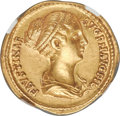 Ancients:Roman Imperial, Faustina Junior (AD 147-175/6). AV aureus (19mm, 7.28 gm, ...