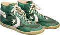 Basketball Collectibles:Others, 1983-84 Kevin McHale Game Worn & Signed Boston Celtics Sneakers....