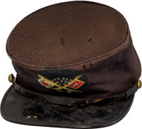 Civil War Enlisted Signal Corps Forage Cap