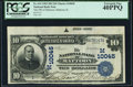 Mattoon, IL - $10 1902 Date Back Fr. 619 The National Bank of Mattoon Ch. # (M)10045 PCGS Extremely Fin