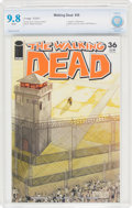 Modern Age (1980-Present):Horror, The Walking Dead #36 (Image, 2007) CBCS NM/MT 9.8 White pages....