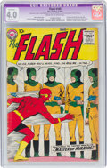 Silver Age (1956-1969):Superhero, The Flash #105 (DC, 1959) CGC Apparent VG 4.0 Slight (C-1) Cream to off-white pages....