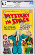 Golden Age (1938-1955):Science Fiction, Mystery in Space #20 Murphy Anderson File Copy (DC, 1954) CGC VF 8.0 Off-white pages....