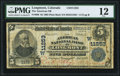Longmont, CO - $5 1902 Plain Back Fr. 606 The American National Bank Ch. # (W)11253 PMG Fine 12