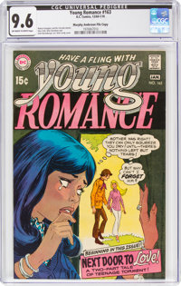 Young Romance #163 Murphy Anderson File Copy (DC, 1969) CGC NM+ 9.6 Off-white to white pages