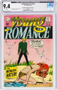 Young Romance #159 Murphy Anderson File Copy (DC, 1969) CGC NM 9.4 White pages