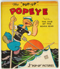 """Big Little Book:Cartoon Character, Big Little Book """"Pop-Up"""" Popeye with the Hag of the Seven Seas (Whitman, 1935) Condition: FN+...."""