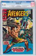 Silver Age (1956-1969):Superhero, The Avengers #39 (Marvel, 1967) CGC NM 9.4 White pages....