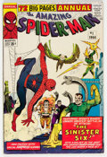 Silver Age (1956-1969):Superhero, The Amazing Spider-Man Annual #1 (Marvel, 1964) Condition: VG....