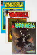 Magazines:Horror, Vampirella Group of 10 (Warren, 1971-74) Condition: Average VF+.... (Total: 10 Comic Books)