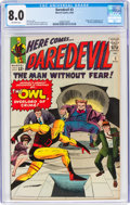 Silver Age (1956-1969):Superhero, Daredevil #3 (Marvel, 1964) CGC VF 8.0 Off-white pages....