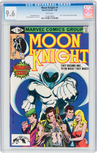 Moon Knight #1 (Marvel, 1980) CGC NM+ 9.6 White pages