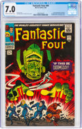 Silver Age (1956-1969):Superhero, Fantastic Four #49 (Marvel, 1966) CGC FN/VF 7.0 Cream to off-white pages....