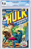 Bronze Age (1970-1979):Superhero, The Incredible Hulk #182 (Marvel, 1974) CGC NM+ 9.6 White pages....