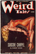 Pulps:Horror, Weird Tales - June 1938 (Popular Fiction) Condition: VG-....