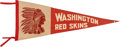 Football Collectibles:Others, 1930's Washington Redskins Pennant. ...